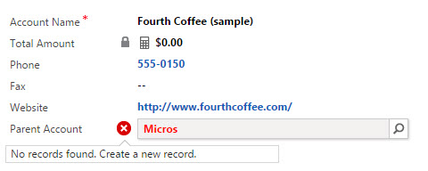 Dynamics CRM form, Auto Resolve CTRL + K record not found CTRL + K - by Rami Mounla