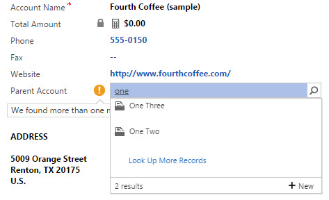 Dynamics CRM form, Auto Resolve CTRL + K multiple matches found, select the correct record - by Rami Mounla
